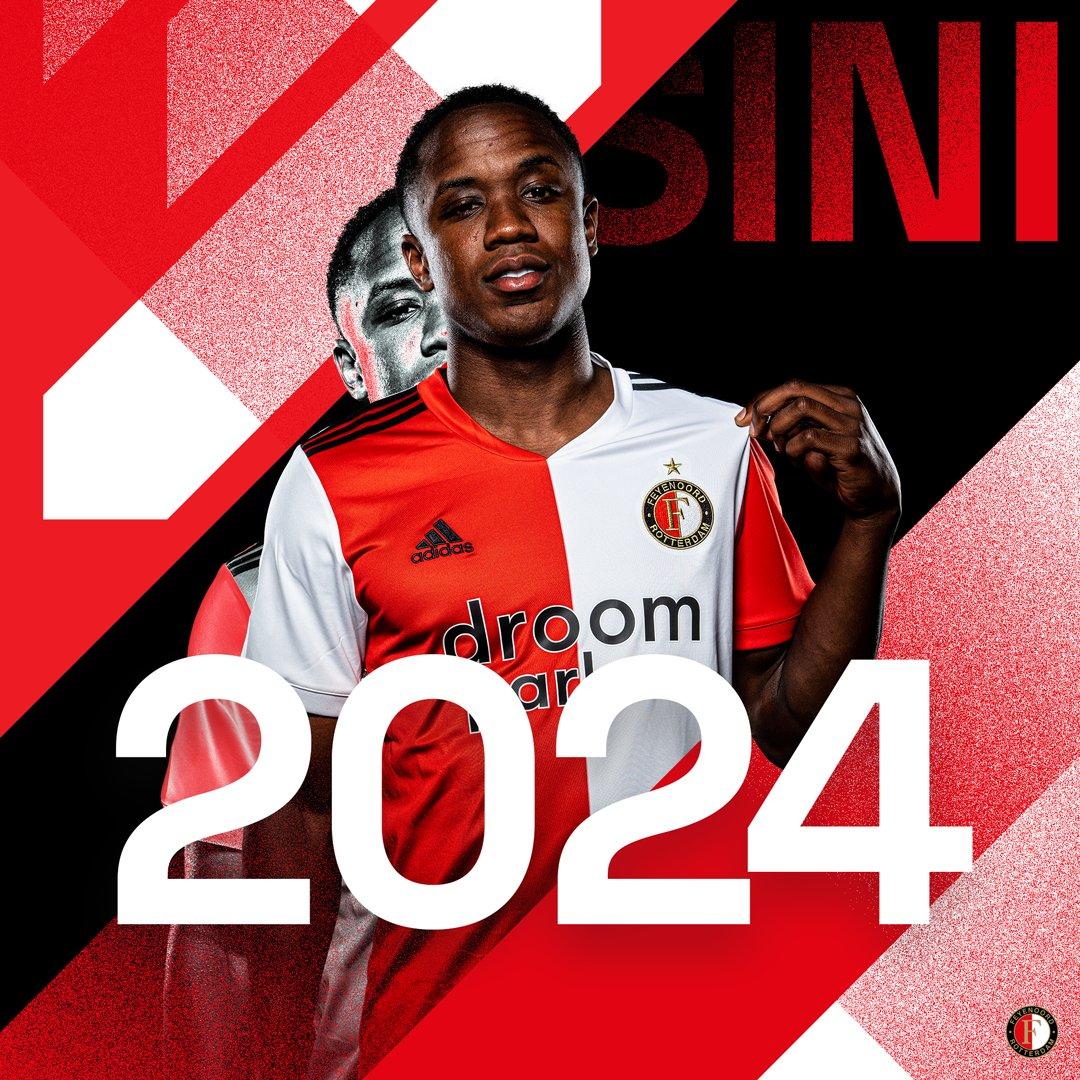 #YoEscuchoElVbarCaracol   🇨🇴✍️ ¡Sinisterra hasta el 2024!  ⚽ El Feyenoord ha firmado, con el colombiano Luis Sinisterra, un nuevo contrato hasta 2024.   🗣️Después de que la opción en su contrato actual ya se ejerciera hasta 2023 el mes pasado, se llegó a un acuerdo por 1 año más