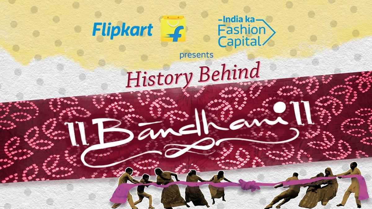 A fashion trend that has stuck around in history for more than 5000 years - Bandhani. Let's celebrate this fashion trend as it makes its way back to the top with its amazing collection at Flipkart Fashion - India Ka Fashion Capital.