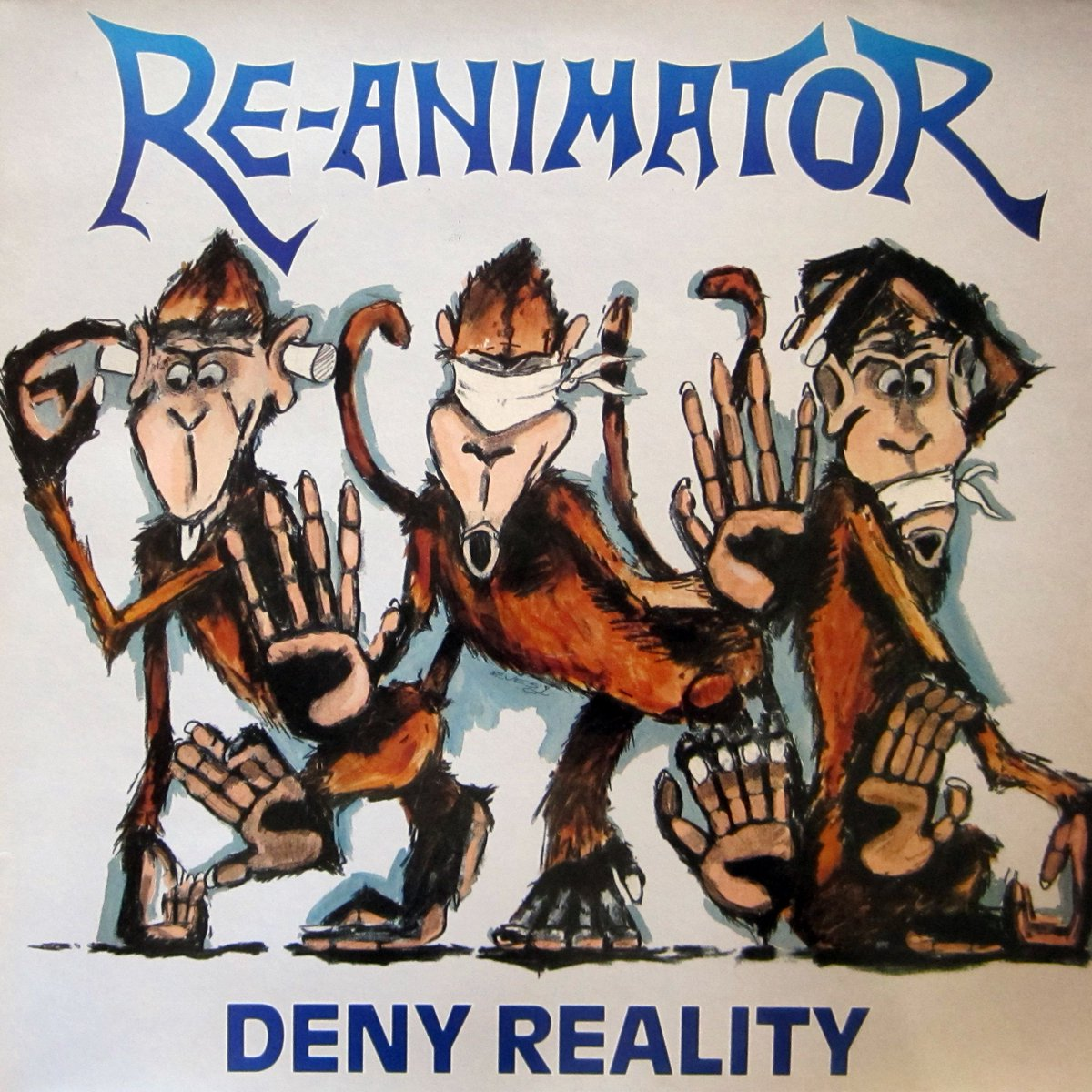 The metal that made me, #11: Deny Reality by Reanimator.  1989 debut mini-album from these classic UK thrashers.  #Thrash #Metal #ThrashMetal