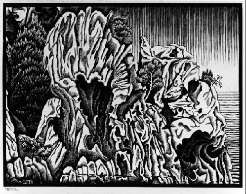 Untitled, 1934 #escher #mcescher