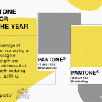 Image for the Tweet beginning: Each year Pantone announces their