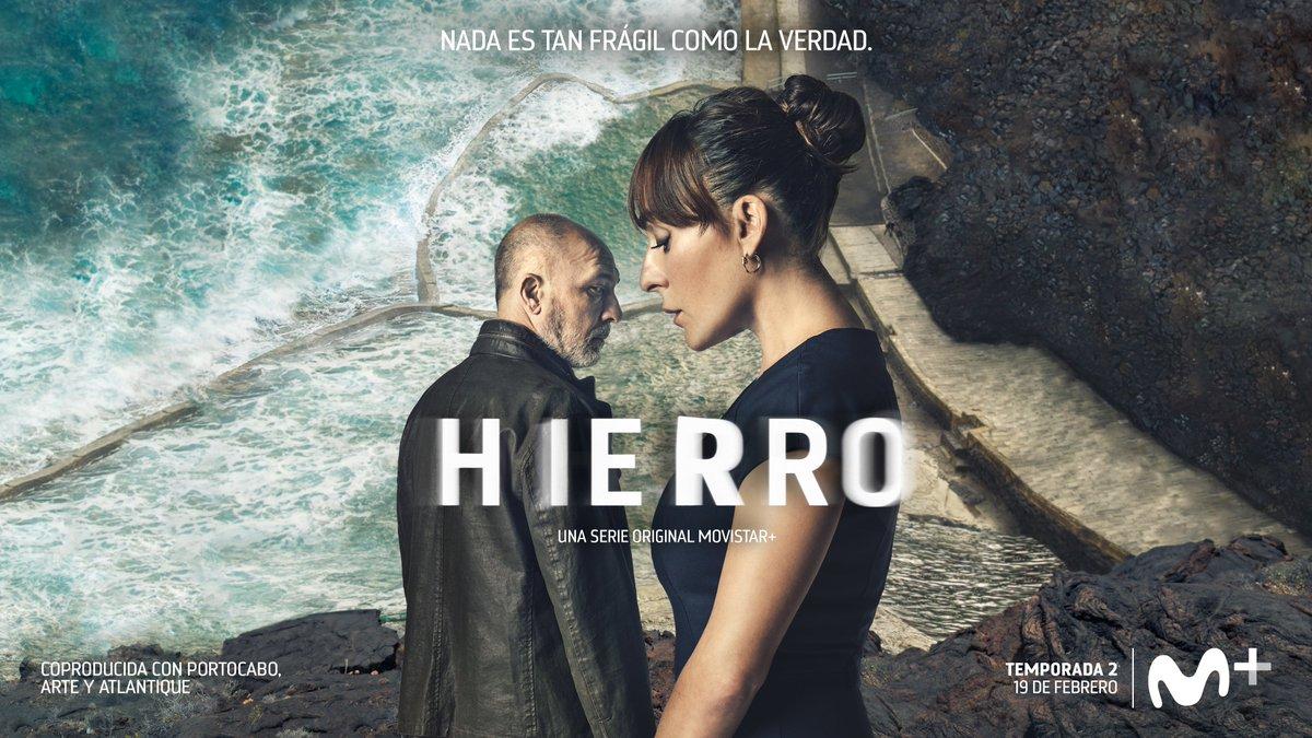 Vuelve #HierroLaSerie.   Temporada 2. Estreno el 19 de febrero en Movistar+.