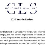 Image for the Tweet beginning: $CLSH Our 2020 Year in