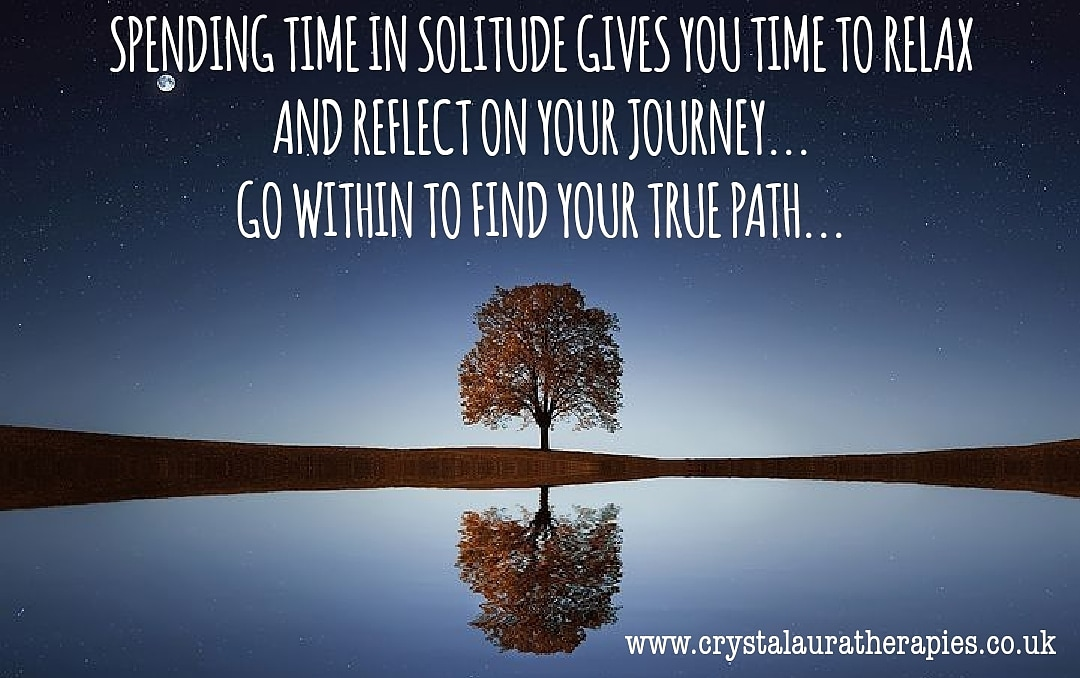 Spending time in solitude gives you time to relax & reflect on your journey. Go within to find your true path!  #wednesdaythought #quoteoftheday #wellbeingwednesday #lifestyle #love #happy #lockdown #free