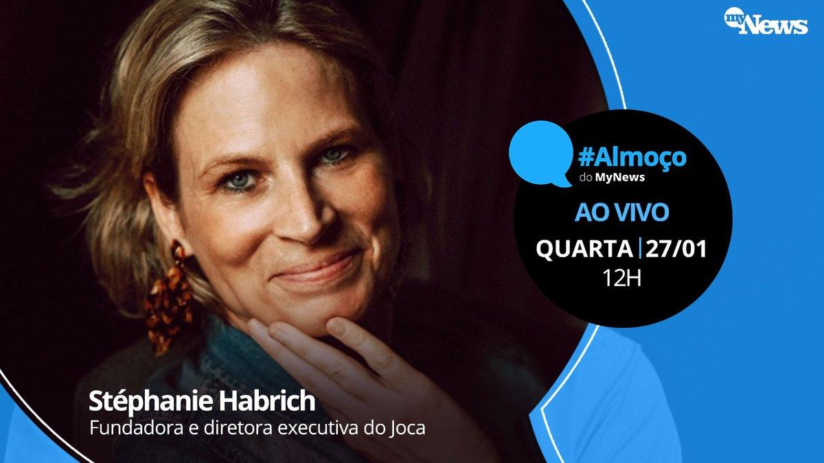 O #AlmoçodoMyNews conversa com Stéphanie Habrich, fundadora do Jornal Joca, primeiro jornal infantil do Brasil. Também vamos falar sobre a nova variante do coronavírus. AO VIVO: