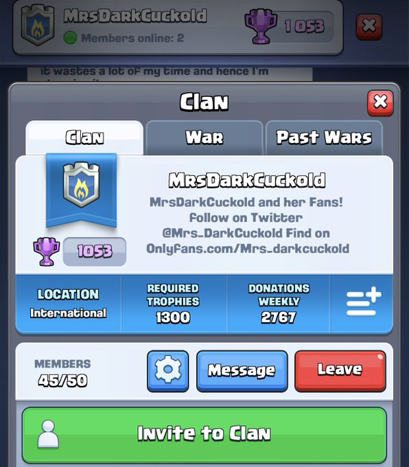 1 pic. We've had some spots open up in our #ClashRoyale clan! Come join if you play and need a friendly