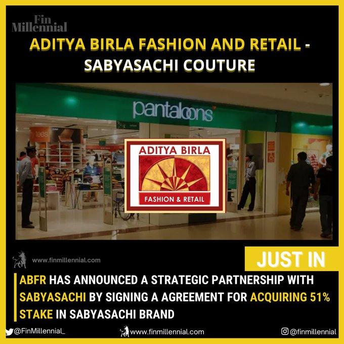 Indias Aditya Birla Fashion to buy 51% of high-end Sabyasachi Photo