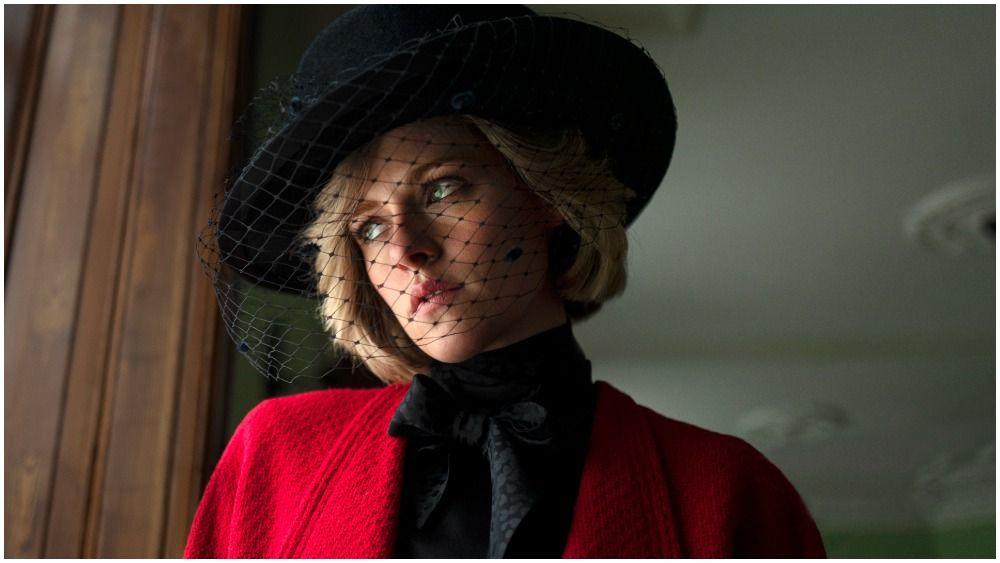 ARRÊTEZ TOUT : Voici la première image de Kristen Stewart dans la peau de Lady Di ! L'actrice incarnera la princesse dans le biopic « Spencer», réalisé par Pablo Larrain.  (via @Variety)