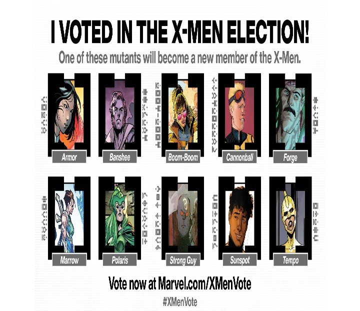 I voted in the  #xmenelections #XMenVote. And have you voted yet?? #XMen