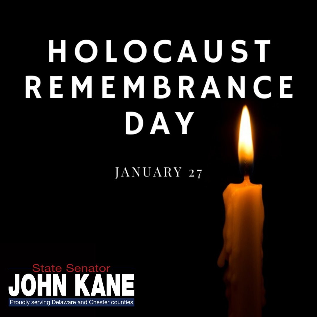 "Today, on #HolocaustRemembranceDay, we remember the 11 million lives lost to hatred and discrimination. In saying ""never again"", we pledge not to forget our history, not to pretend it never occurred, but to confront it and to ensure that this hatred never takes hold again."