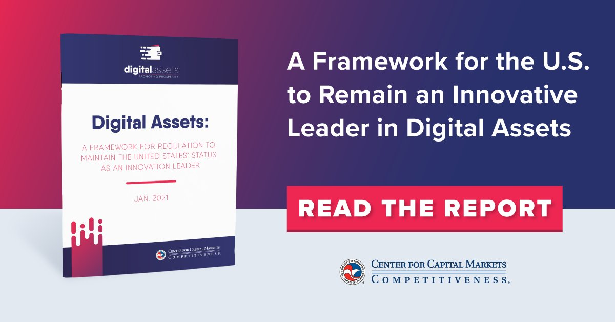 test Twitter Media - Learn about @USChamberCCMC latest report and hear from expert speakers and panelists discuss how the financial services regulatory regimes significantly impacts digital asset and related blockchain innovation. Read here: https://t.co/2vWUNTyfSn Watch here: https://t.co/easWTay5Ot https://t.co/ZMGJeasHpZ