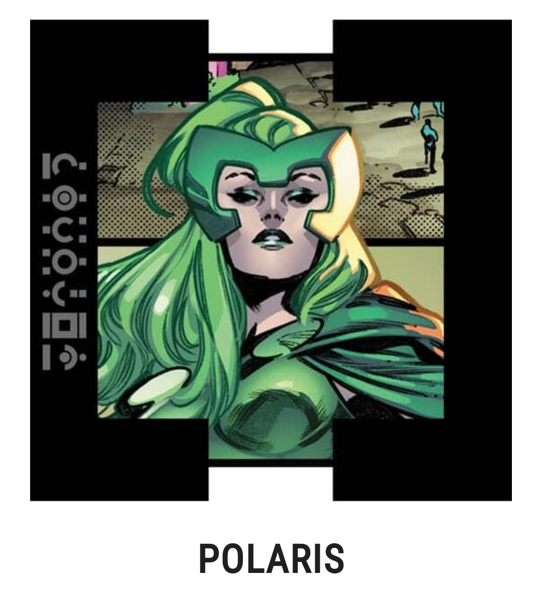 @Marvel Well if I have to pick one of the ones in the voting, I will probably always go with Magneto's offspring. So Polaris. If Scarlet Witch was in it, it would be her. #XMenVote