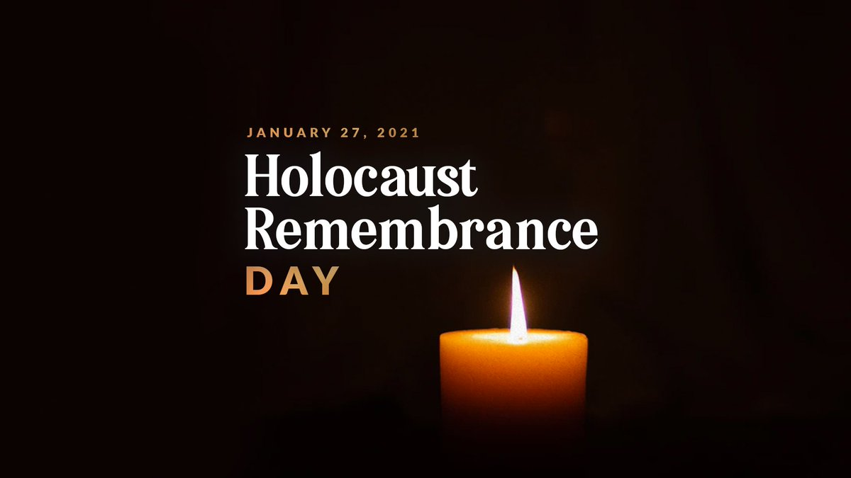 Today, on the 76th anniversary of the liberation of Auschwitz-Birkenau, #weremember those who died in the Holocaust and we honor the brave survivors. Today is a reminder that we must always fight against evil. #HolocaustRemembranceDay
