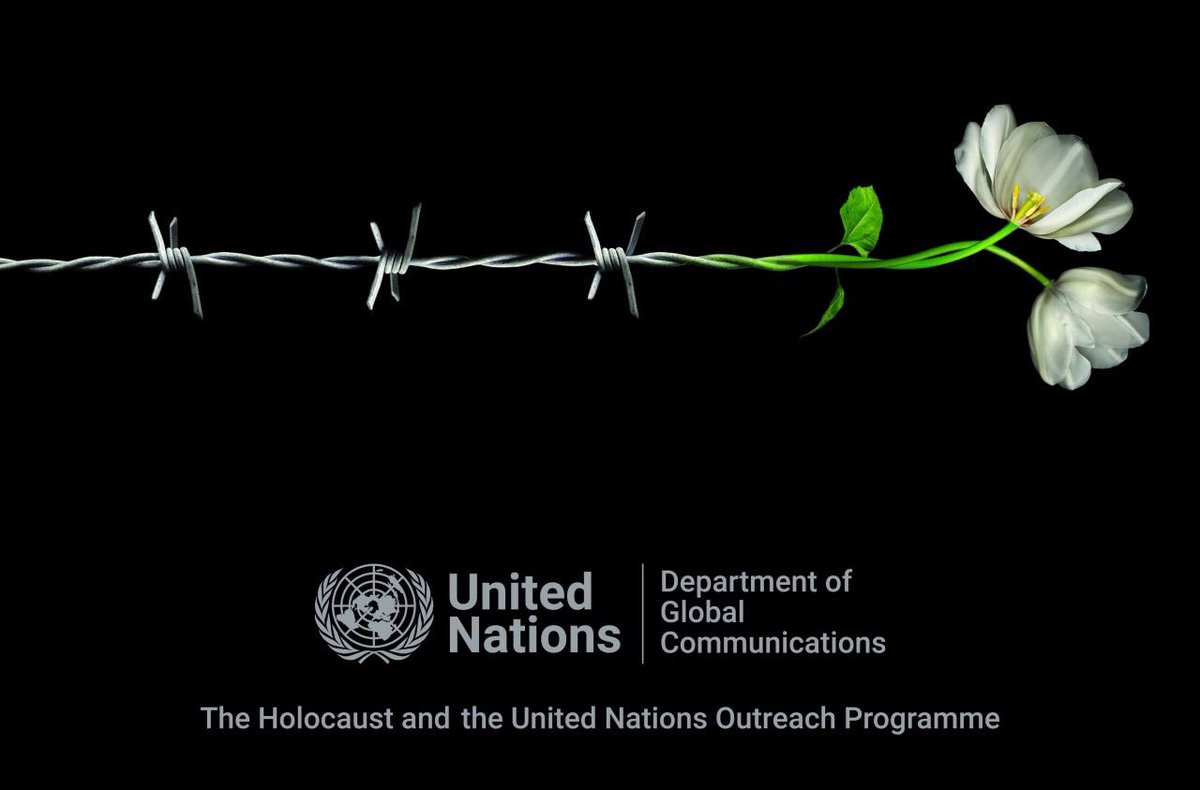 #HolocaustRemembranceDay we honour the memory of the six million Jews and millions of others who perished in the Holocaust.