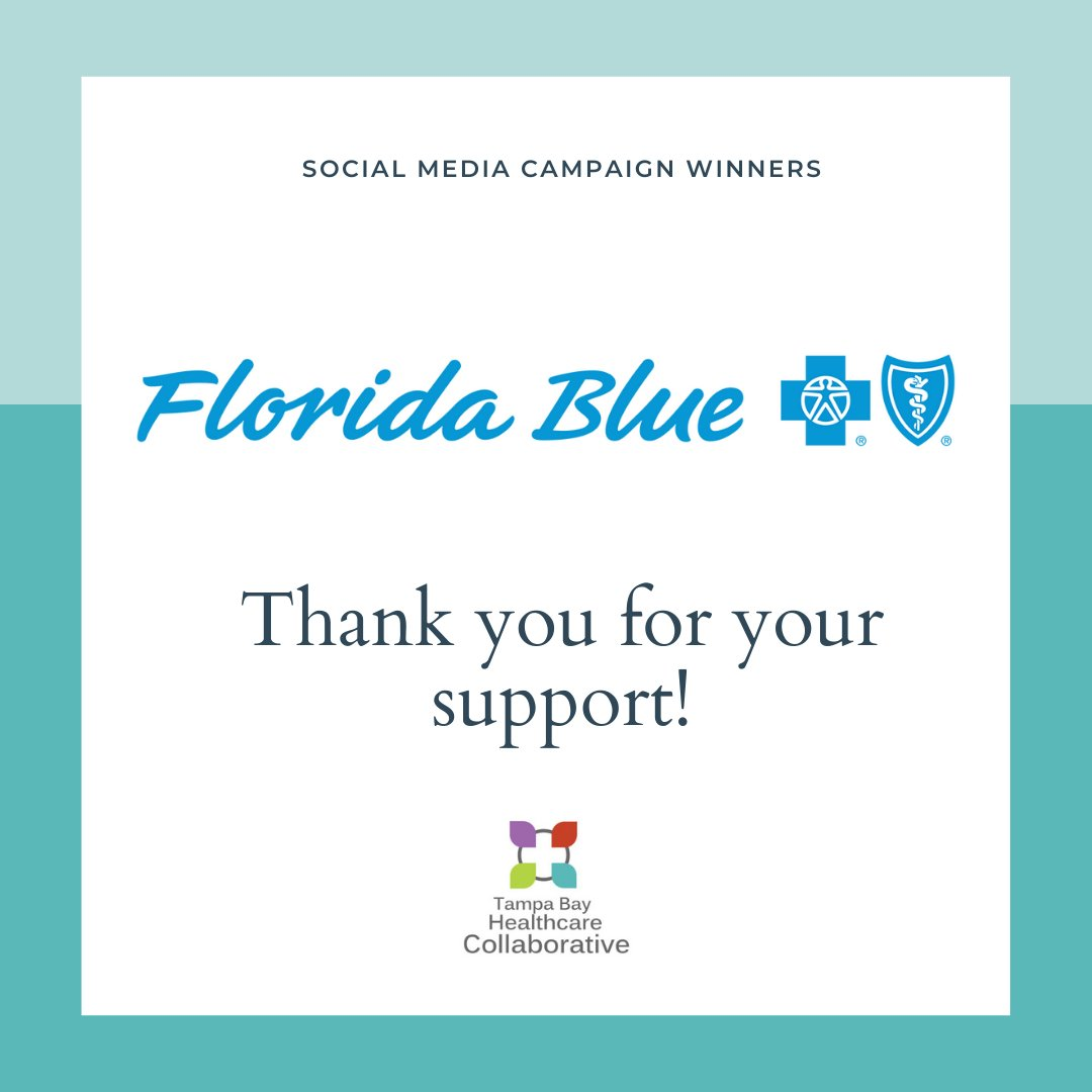 The Florida Blue Foundation donated $50,000 to five nonprofits across the state during their #GivingTuesday campaign. TBHC received a $10,000 donation that will help us reach our health equity goals! We extend our sincerest gratitude to Florida Blue! #TBHC  #healthequity