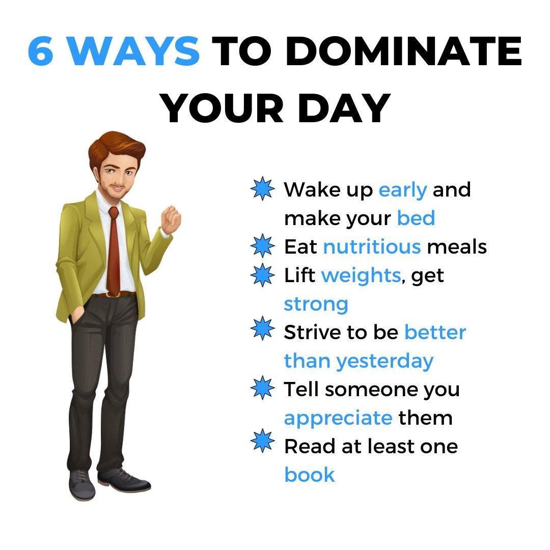 Let's Dominate Today! #BalanceVie #wednesdaythought #WednesdayMotivation #goodmorning