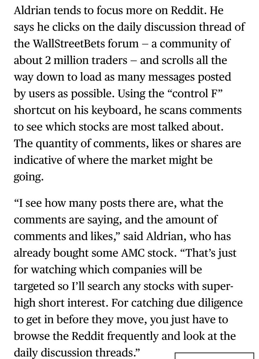 Here's how one r/wallstreetbets member explained to me how he decided to buy AMC on Monday, which is up more than 300% today.