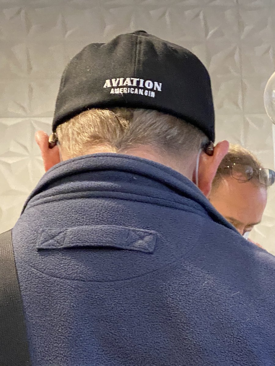 @AviationGin When you meet someone for the first time at a work meeting and stand nearby to almost ask him if he'd give you your hat. Almost. Because technically he's still a stranger and that would be weird.