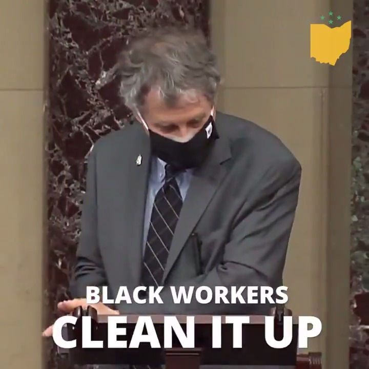 White supremacists ransacked the Capitol. Black and brown workers cleaned it up.  I'm introducing a Senate resolution to recognize the Capitol custodians for their bravery and service to our country on January 6th.  We must honor the dignity of their work.