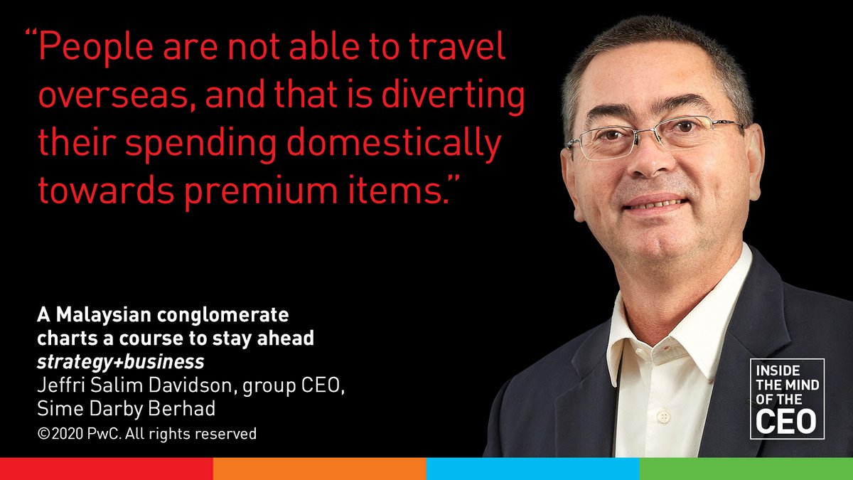 Keeping up with customers' demands will be key to future success for conglomerate Sime Darby Berhad. New interview with Group CEO Jeffri Salim Davidson:  #AsiaPacific #CX