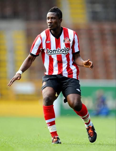 Nobody but Asamoah Gyan celebrations 😂😂💯🥺 Sunderland #DavidoAtO2  #30BG https://t.co/j1BKwjuYqh