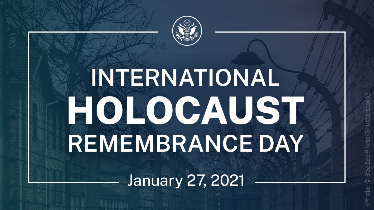 #WeRemember the 6 million Jews and millions of others murdered and persecuted during this dark chapter of human history and continue the vital work of combatting anti-Semitism whenever and wherever it occurs. https://t.co/zoRfwOPqZH https://t.co/f6reD0Yhs8