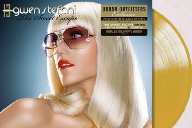 Must-have! @gwenstefani is releasing 'The Sweet Escape' on gold vinyl:  😍💛