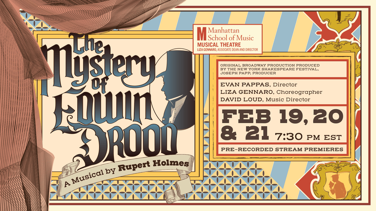 ✨🎶DATE ANNOUNCEMENT🎶✨  MSM Musical Theatre presents:  THE MYSTERY OF EDWIN DROOD   FEB 19, 20, 21 | 7:30 PM EST  #musicaltheatre #nycmusical #Drood #musical #edwindrood #nyc