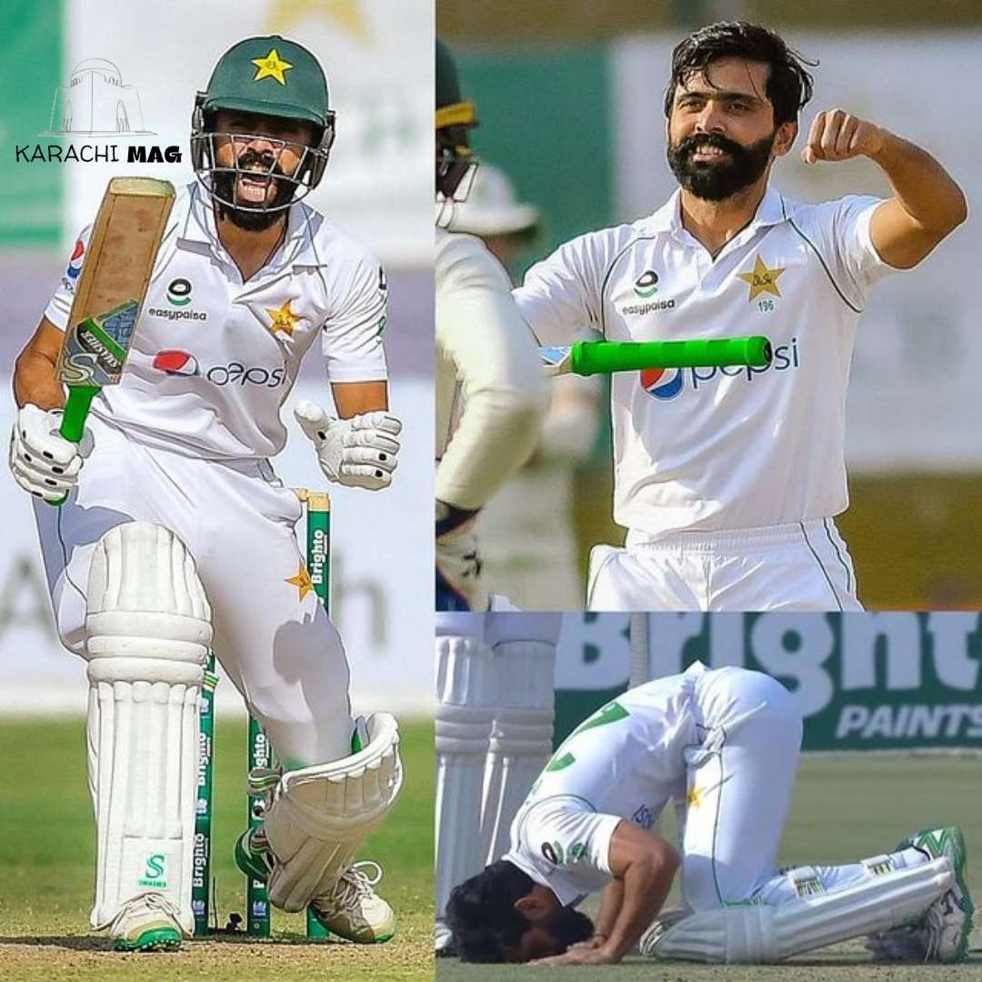 Rate this champion batsman's performance!  . . . #KarachiMAG #Karachi #Magazine #FawadAlam #PAKvSA #PAKvsSA #TestCricket #Legend #Cricket