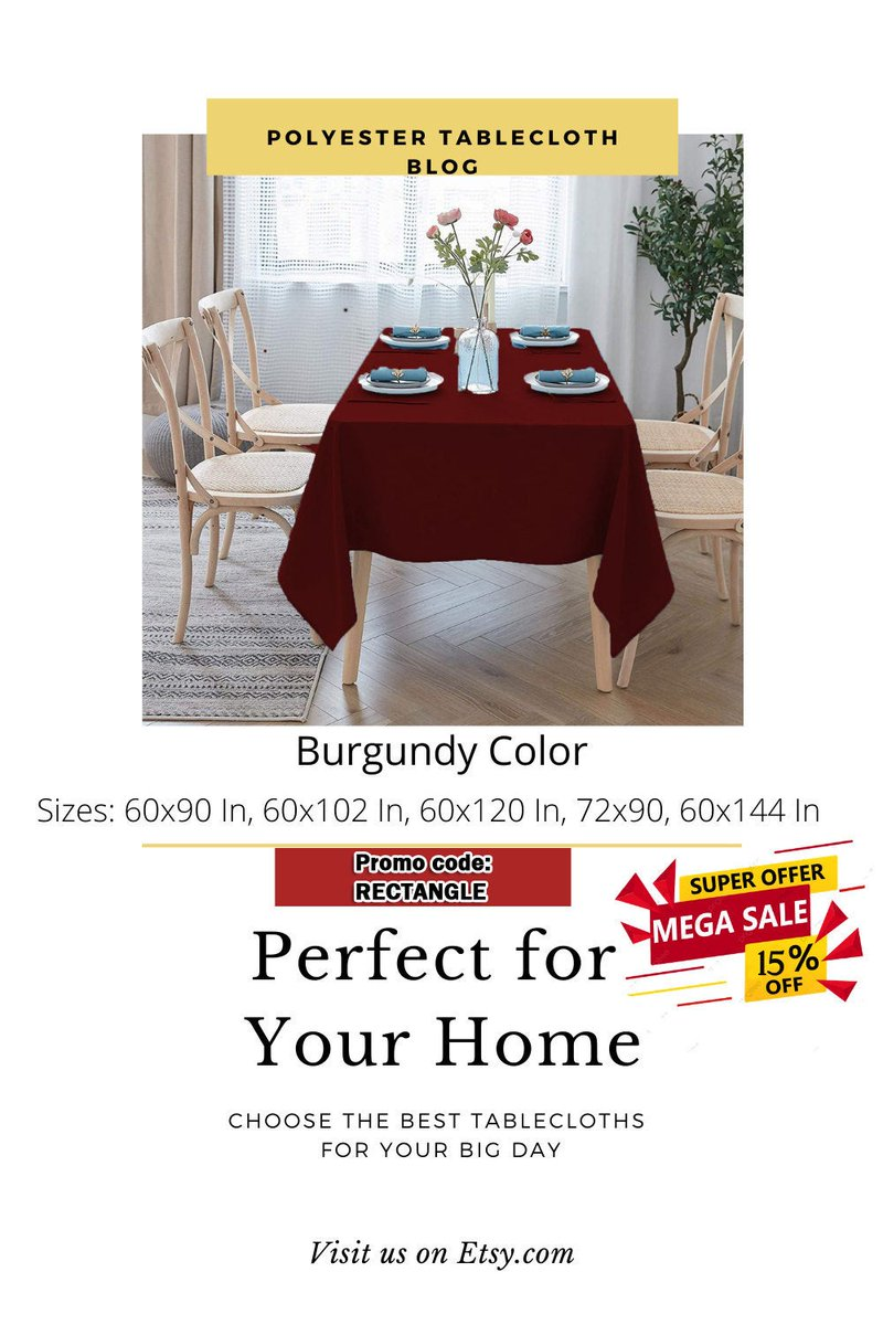 Special offers Rectangle Polyester Tablecloth, Linen Table Cloth, Custom tablecloth, Table cover Rectangle, Party Decor Wedding Banquet Hotel Event  #rectangle #polyester #thanksgiving #tablecloth #fabricta