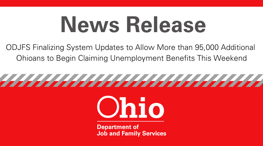 When Do Ohio Unemployment Checks Come Since Christmas Is On A Tuesday 2021 Ohiojfs On Twitter News Release Odjfs Finalizing System Updates To Allow More Than 95 000 Additional Ohioans To Begin Claiming Unemployment Benefits This Weekend Full Details Https T Co Prqud8px8e Https T Co Fkn7zzbzue