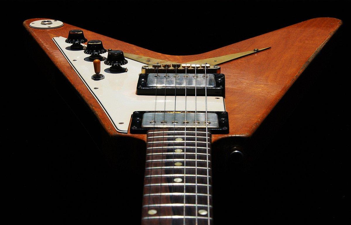 #FlyingVWednesday  1958 Gibson Flying V  #guitar #gibson