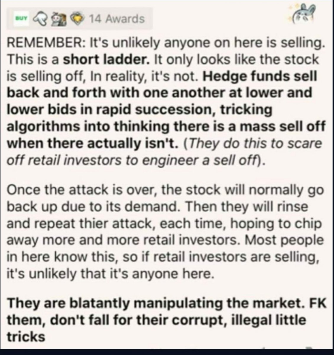 DONT SELL  DONT SELL. DONT FUCKING SELL. #stockmarkets  #wallstreetbets  #stonks