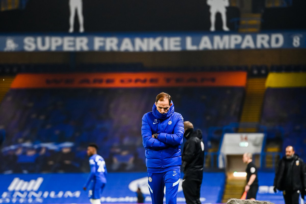 Thomas Tuchel's first match in charge of Chelsea ends in a 0-0 draw 😐 https://t.co/4akzGUshmT