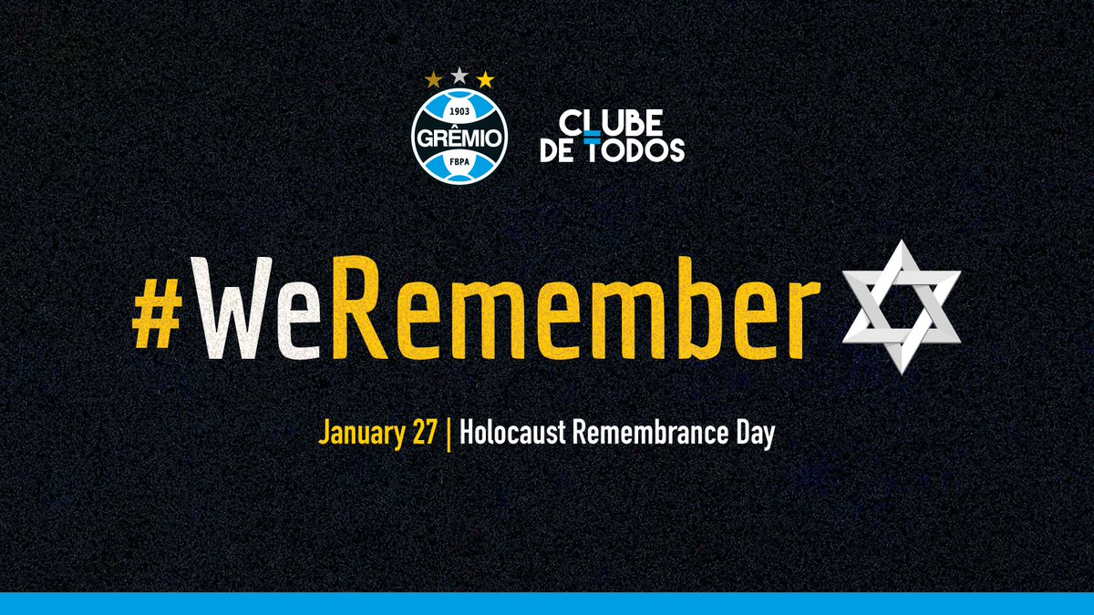 Remember the past so as not to repeat in the present and future.   We condem any type of prejudice and defend a future where there is no intolerance, racism or discrimination.   #WeRemember