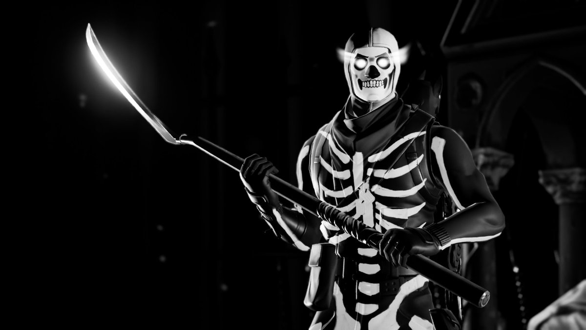 The dead will walk the earth. In a classic spooky getup. A treat for my fellow skeleton buddy @SpkyScryTrooper  #FortniteCreative  #FortniteZeroPoint  #Fortography