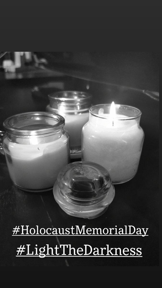 #HolocaustMemorialDay #HolocaustRemembranceDay #LightTheDarkness