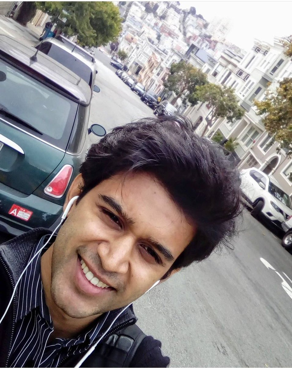 #ThrowbackThursday   Young Abi in the streets of SF!  Proud to see this young boy grow into a matured man!!  I want my child to groom like ur personality!!  U are an inspiration to the young boys and aunty is an inspiration to budding mom's #Abijeet  Lots of love to both of u❤️