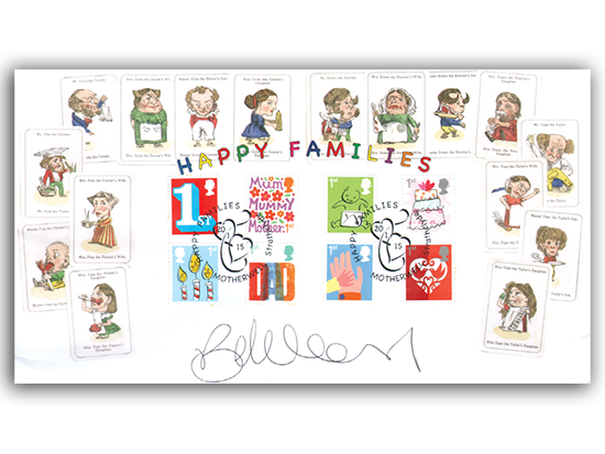 Best of Buckingham: Happy Families First Day Covers #happyfamilies #stamps #fdc -