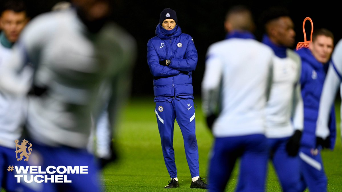 For someone who had only one training session, good game Tuchel. #CHEWOL