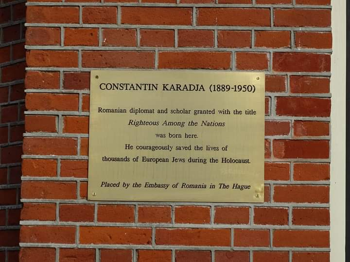 """#WeRemember Constantin I Karadja, Romanian diplomat and scholar, born in The Hague, """"Righteous among the Nations"""" . He is recognized for contributing to the saving of over 51,000 European Jews from deportation between November 1943 and July 1944."""