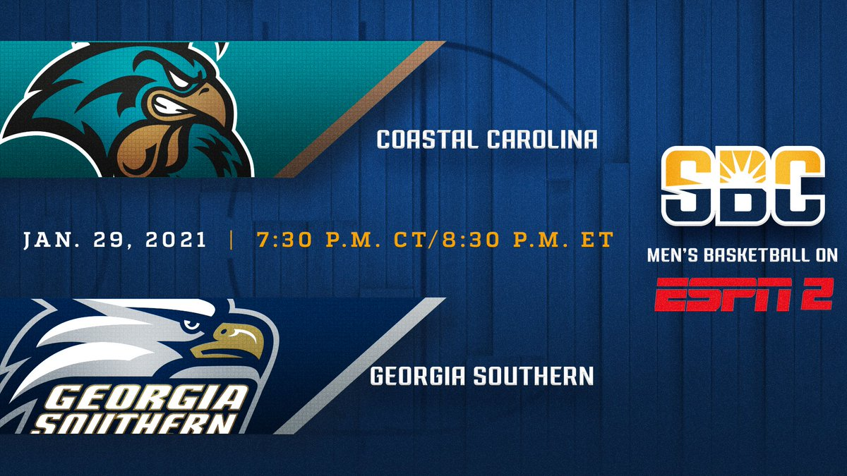 This Friday. #ESPN2 #ChantsUp at #HailSouthern #SunBeltMBB https://t.co/4gwDQWJS1f