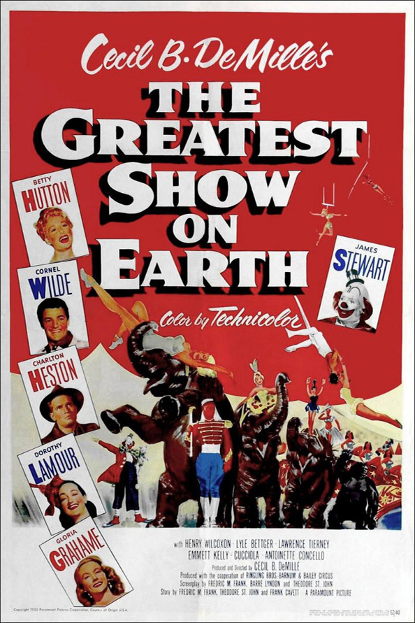 .@thetalentguru #Circus #Carnival #Trilogy #Classichollywood #era #ClassicMovies #Films #TCMparty #TCM  Make an unofficial Trology - Here's mine   The Greatest Show on Earth 1952  Trapeze 1956  Circus World 1964 (released as The Magnificent Showman in the United Kingdom)