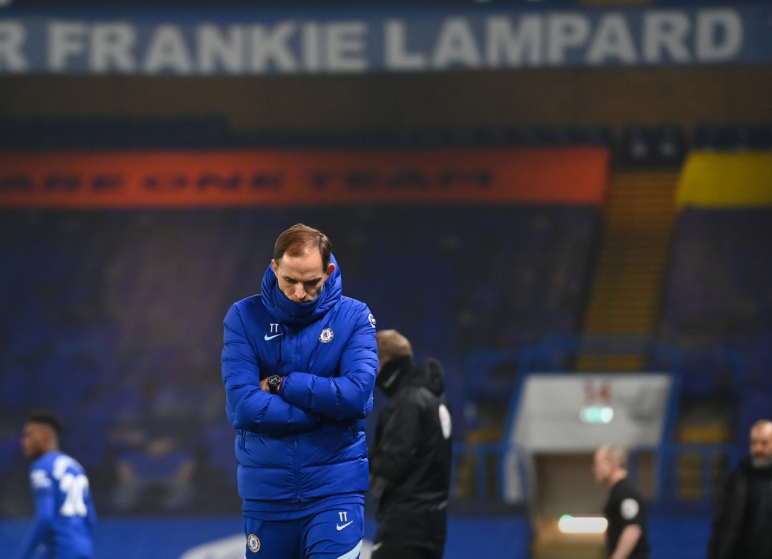 Full-time;  Chelsea 0️⃣-0️⃣ Wolves  Thomas Tuchel first game in charge of Chelsea ended in a goalless draw.  Chelsea have now picked up 8️⃣ points from their last 9️⃣ PL games.. 😟 #CHEWOL #TuchelOut #wednesdaythought