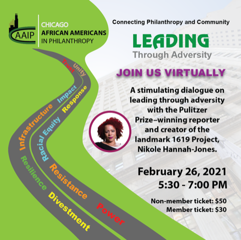 Be inspired! Attend Connecting Philanthropy & Community. We'll recognize your peers in philanthropy and nonprofits. Listen to the keynote conversation between @nhannahjones & @kataiyero. Register today. #connectingphilanthropy2021 #philanthropy #nonprofits
