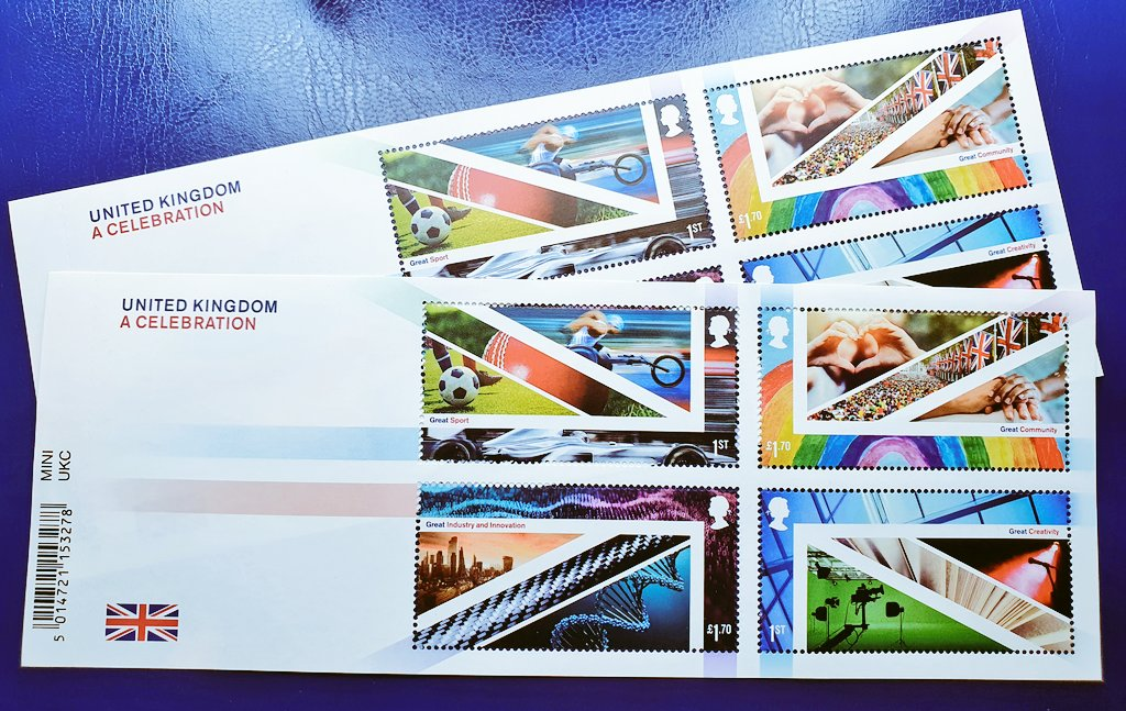 I picked these up from the Post Office today, or rather my local post master used his jedi mind tricks to make me buy them!! I actually really like the design, and they will look superb on cover. #stampcollecting #philately #philatelic #timbre #post #briefmarken #postage #stamps