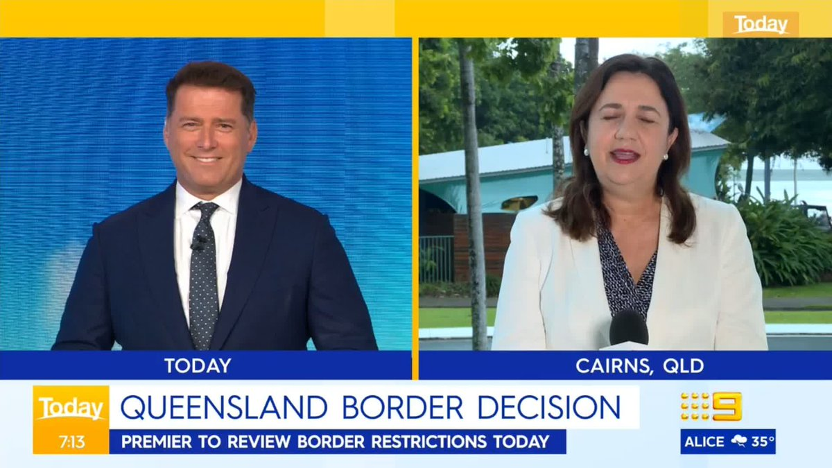 #BREAKING: Queensland Premier Annastacia Palaszczuk has announced exclusively to TODAY that the New South Wales border will RE-OPEN on the 1st of February. #9Today