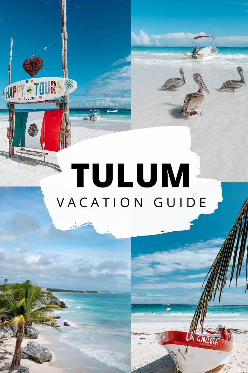 On our vacation to Tulum we saw Maya ruins, magnificent beaches, and tried Mexican Street Food.   READ MORE:   #tulum #Mexico #vacation #Travel #travelblogger #travelblog #blogger #blog #ttot #beach #TREASURE #Foodie