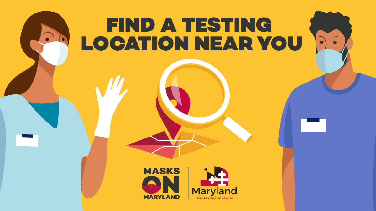 @MDMEMA is encouraging all Marylanders who need a #COVID19 test to get tested, especially those who:  - Exhibit symptoms - Suspect exposure - Are at risk of exposure - Have attended large gatherings - Have travelled recently  Find a testing site: https://t.co/CptbmFbGY3 https://t.co/EvKT6CETvn