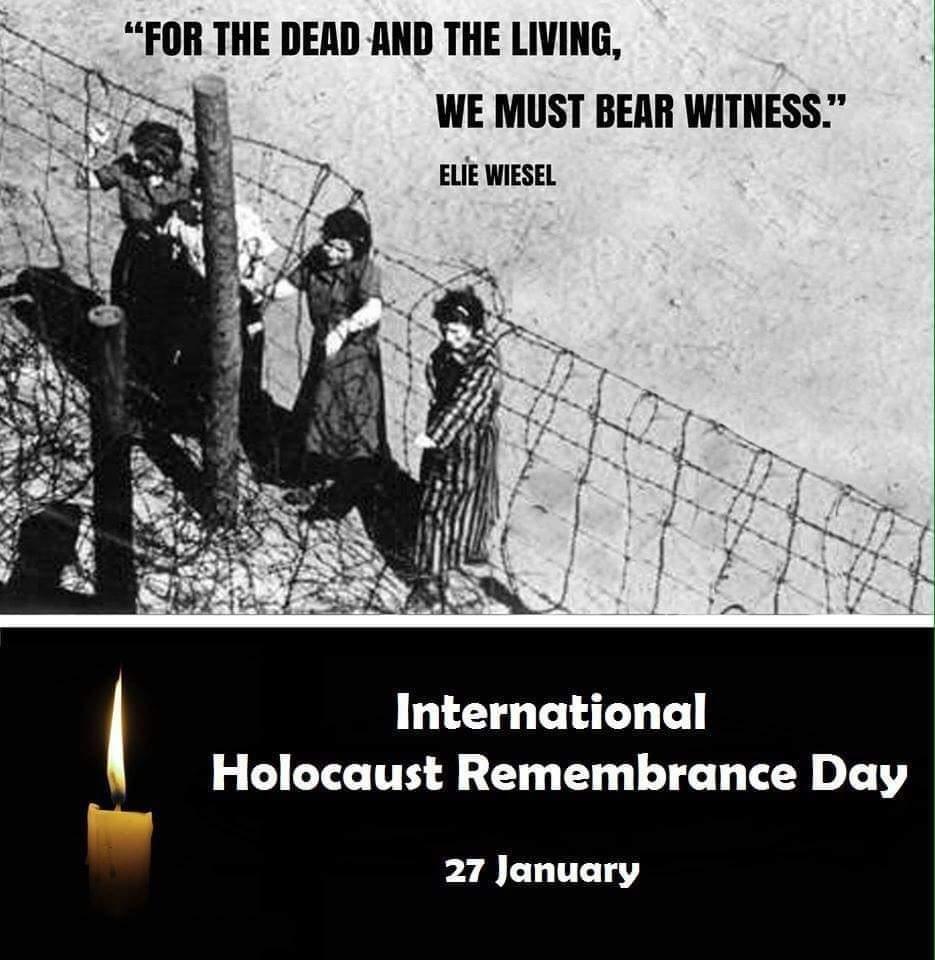 #HolocaustRemembranceDay #HolocaustMemorialDay